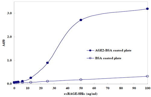 AGE-RAGE <em>in vitro</em> Binding Assay