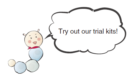 Try out our trial kits!